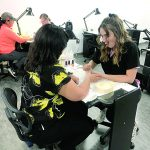Cosmetology department raises $2,400 for cancer patient