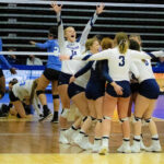 Eastern Volleyball easily wins first game in NJCAA  tournament