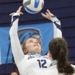 First time ever for Eastern volleyball team:  Women head to nationals this week